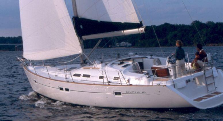 Oceanis 423, Генуя