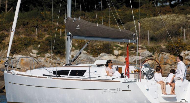 Sun Odyssey 33i Economy, Афины